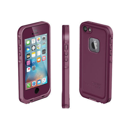 purple lifeproof case iphone 5s purple lifeproof fre waterproof shockproof drop cover 17934
