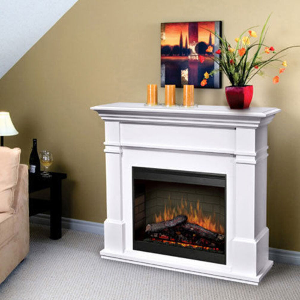 Kenton White 2000w Optimyst Electric Fire With Mantle Online Kg Electronic