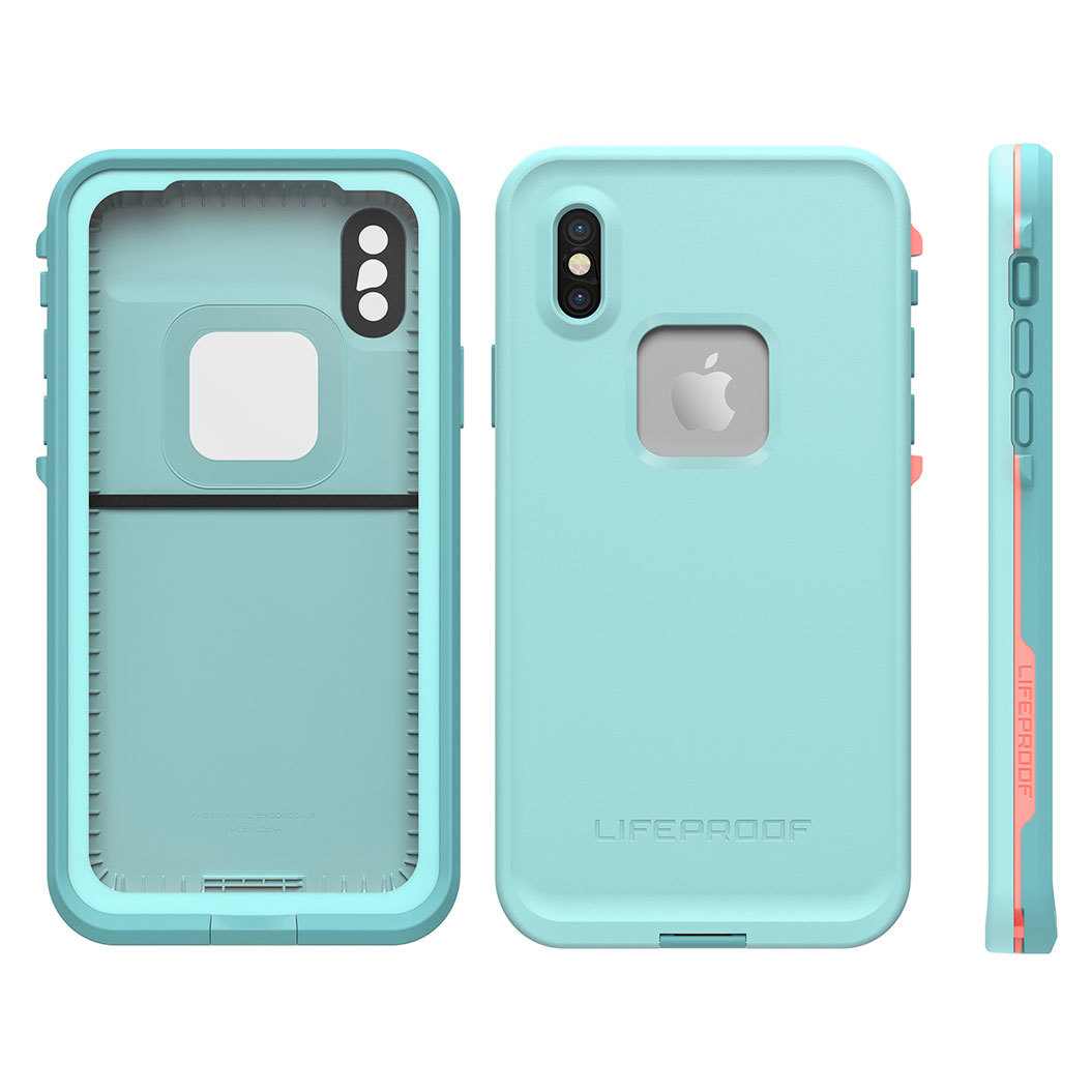 lifeproof iphone case lifeproof fre teal pink for iphone x kg 12579