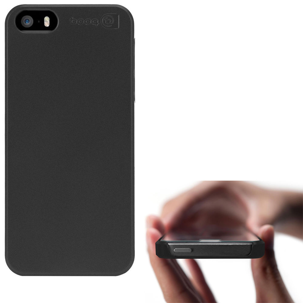 dropped iphone and screen is black booq glass screen protector for iphone 5 5s 18401