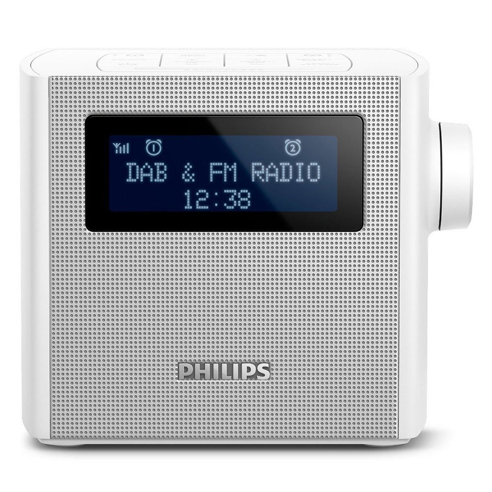 philips ajb4300w dab digital radio dual alarm clock online kg electronic. Black Bedroom Furniture Sets. Home Design Ideas