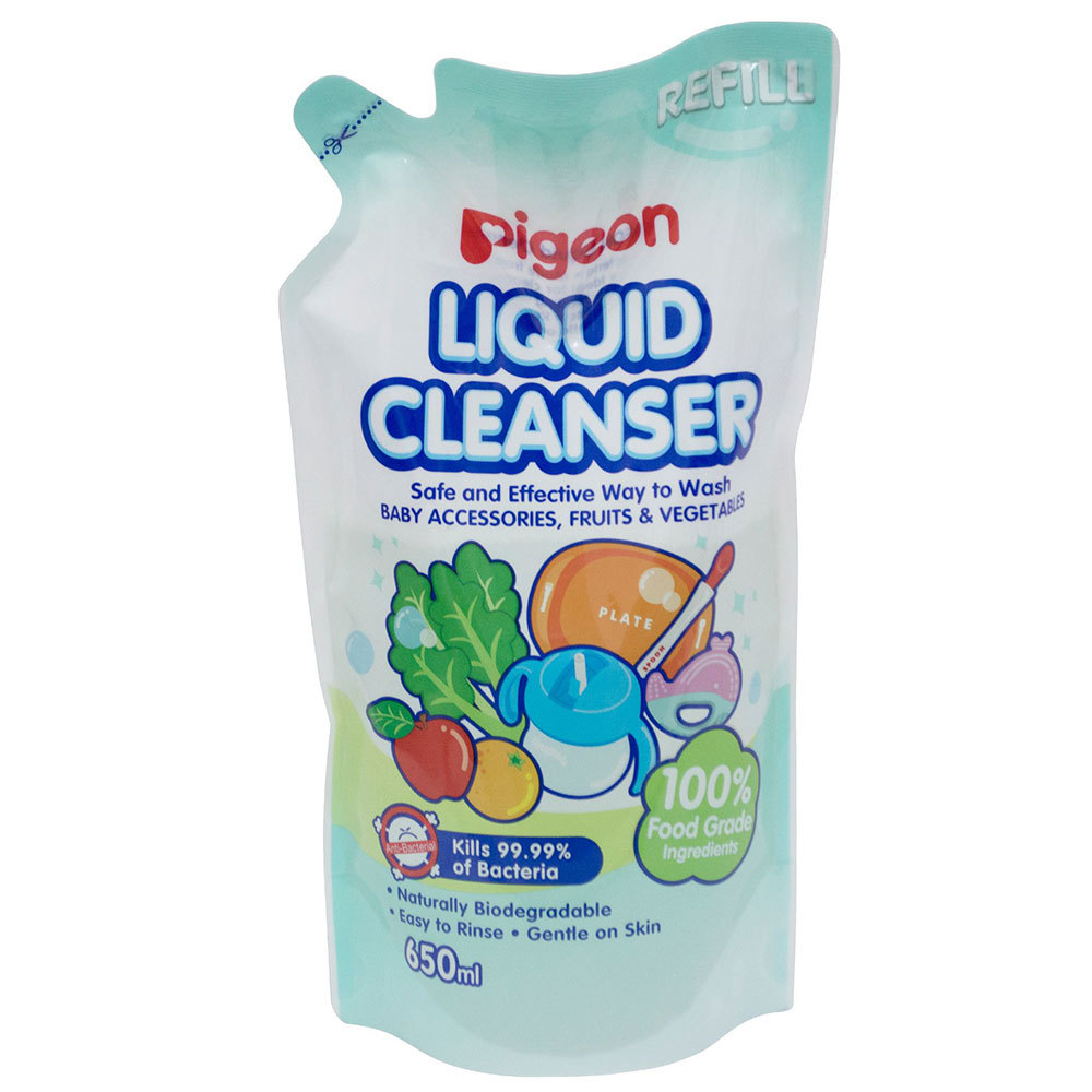66e9b24d2 Details about Pigeon 650ml Liquid Cleanser Refill Baby Soap  Teat/Bottles/Toys/Fruit/Vegetables