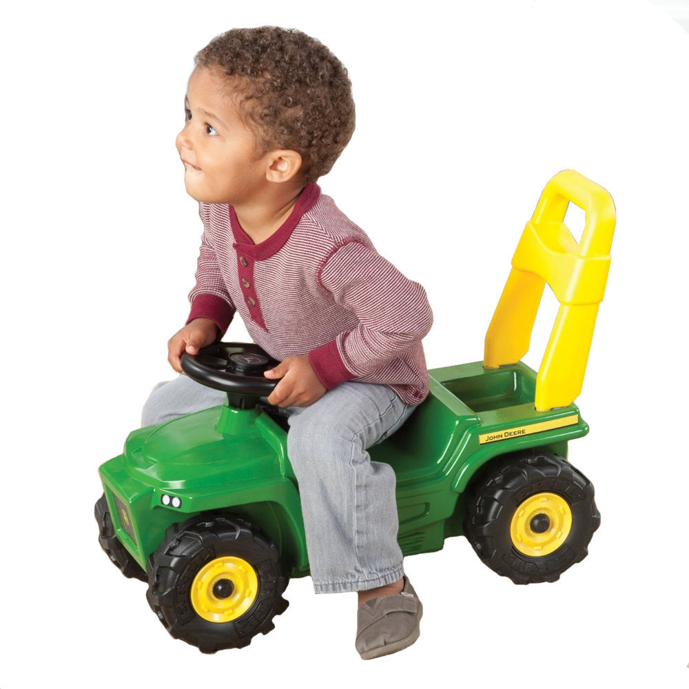 Toddler Riding Toys : John deere sit n scoot ride on rocker push along play