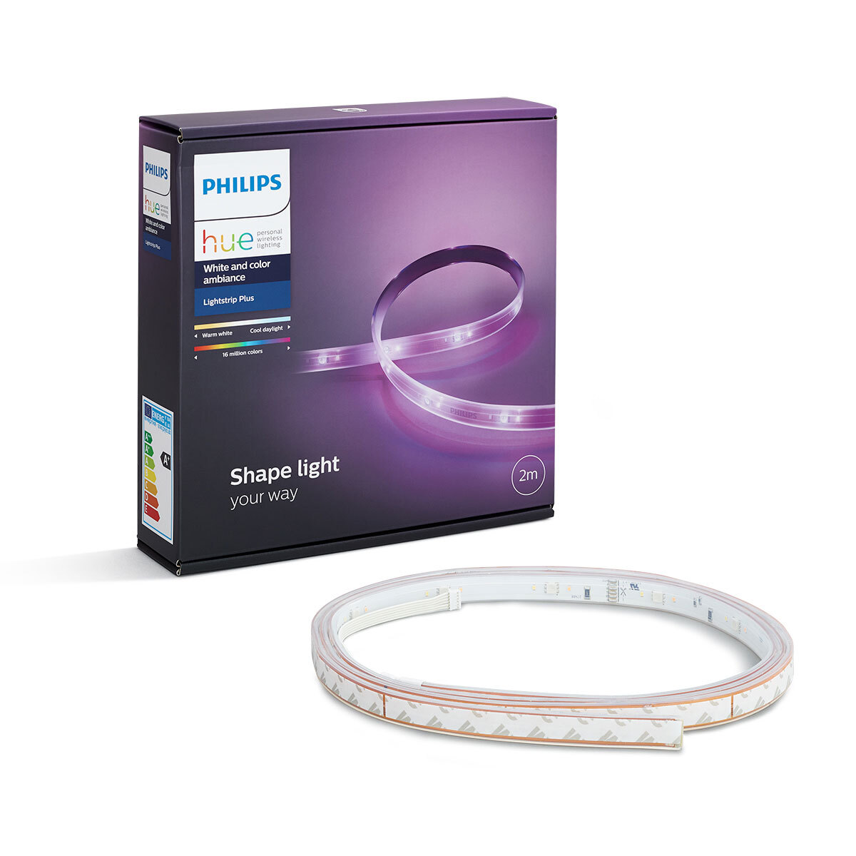 Philips Hue 2m Lightstrip Plus - Online | KG Electronic