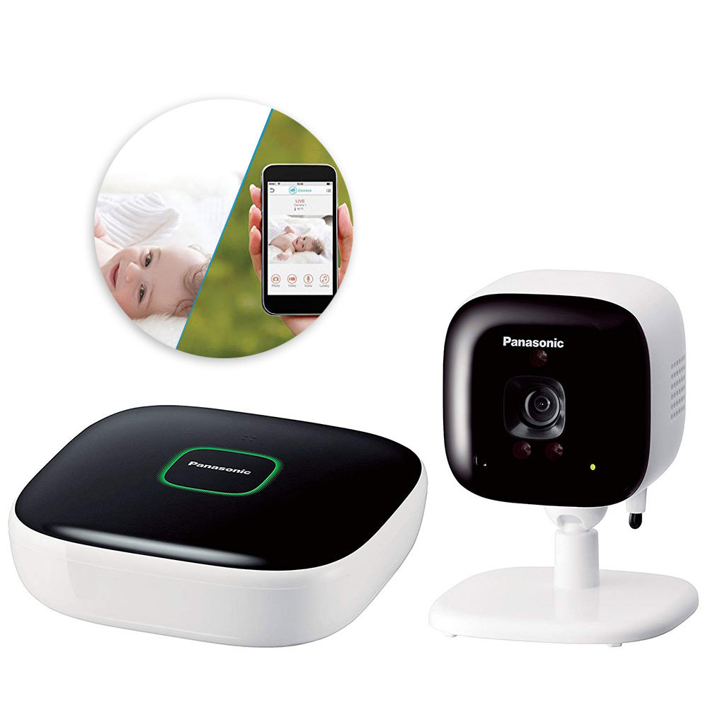 Panasonic Smart Baby Monitor Kit W Hub Indoor Wireless Ip