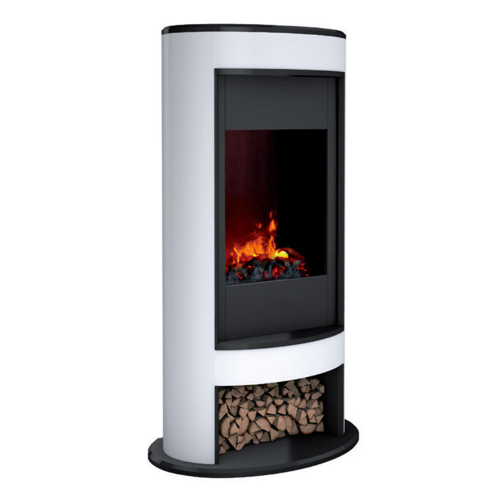 dimplex mocca electric fireplace heater fire flame smoke coal log
