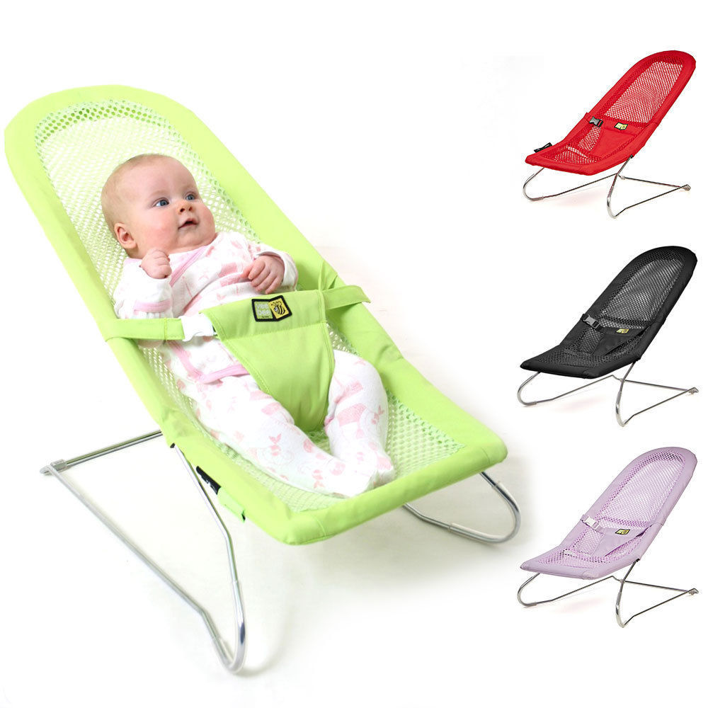 Serenity Infant Baby Bouncer Chair  sc 1 st  eBay & Vee Bee Serenity Infant Baby Bouncer Chair/Seat/Bouncing/Rocking ...