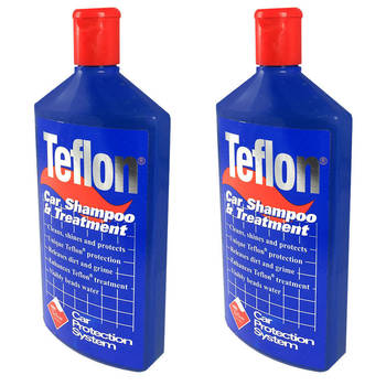 Teflon Car Shampoo Treatment 2 Pack