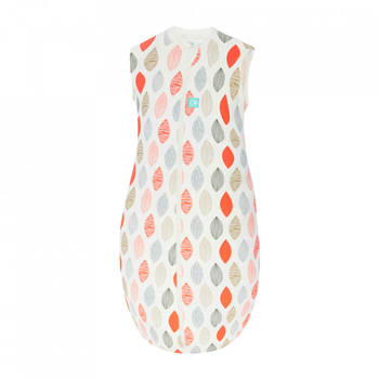 1.0 Jersey Sleeping Bag Size: 8-24 Months - Blush Leaf