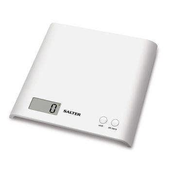 Electronic Digital Kitchen Scale - White