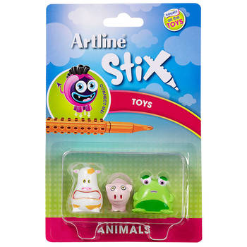 Artline Stix 3PK Animals Toys for Stix Drawing Pen