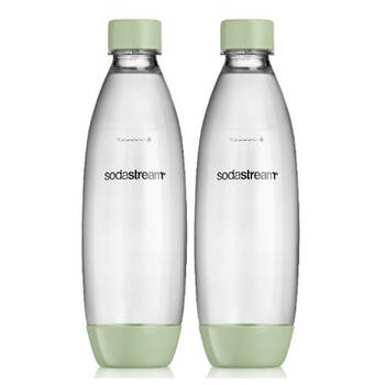 SodaStream 1L Twin Pack Decor Edition - Country Green