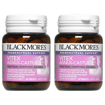 2PK Blackmores Vitex Agnus-Castus Herbal Supplement