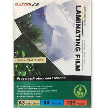 100pk A3 Laminating Film Pouches