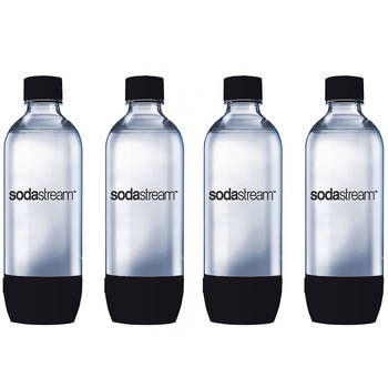 2x 1L Carbonating Bottles (Twin Pack - Black)