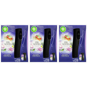 Air Wick Freshmatic Mystical Garden Automatic Spray 3 Pack