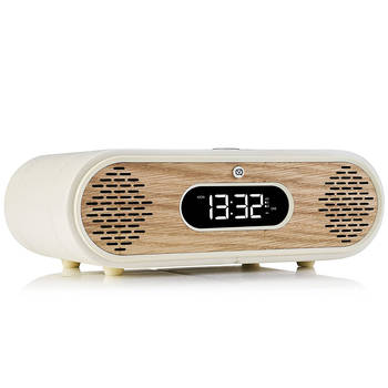 VQ RL DAB+/Digital Radio/FM/Bluetooth/Dual Alarm Clock - Cream