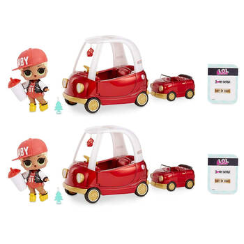 2PK LOL Surprise Furniture M.C Swag Cozy Coupe