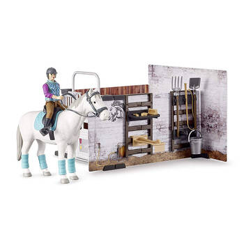 Bruder B World Horse Barn Stable Kids Toys 4y+