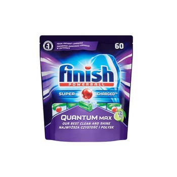 Finish Quantum Max Dishwasher Tablets Apple & Lime Blast