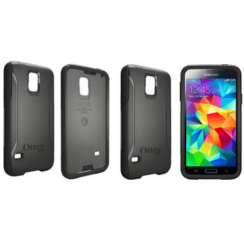 Otterbox Black Commuter Heavy Duty Tough Case Cover/Bump, Shock. Dust, Scratches Protection For Samsung Galaxy S5