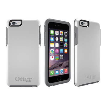 Otterbox White Symmetry Heavy Duty Tough Case Cover/Bump Shock For Iphone 6 4.7""