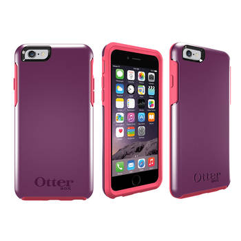 Otterbox Purple Symmetry Heavy Duty Tough Case Cover/Bump Shock For Iphone 6 4.7