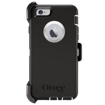 Otterbox Black Defender Tough Heavy Duty Drop Case/Cover for iPhone 6/iPhone 6s