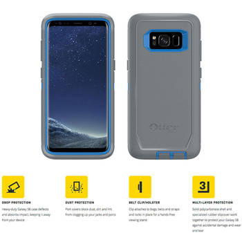 Otterbox Defender Screenless Case for Samsung Galaxy S8 Plus