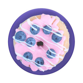 PopSockets PopGrip Swappable PopTop - Blue Berry Donut