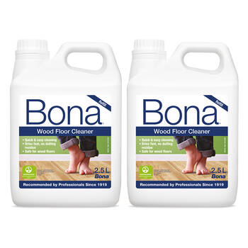 2PK Bona 2.5L Wood Floor Cleaner