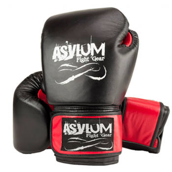 Asylum Boxing Gloves 14OZ MMA Red