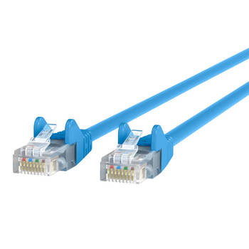 Belkin 5M Cat5e Snagless Patch Cable - Blue