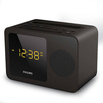 Philips AJT5300 Bluetooth Dual Alarm Clock Radio