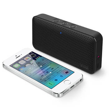 Black Iluv Mini Slim Portable Bluetooth Speaker