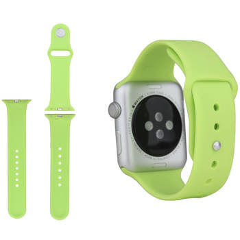 Green Silicone Sport Fitness Bracelet Strap Band Armband for Apple Watch iWatch