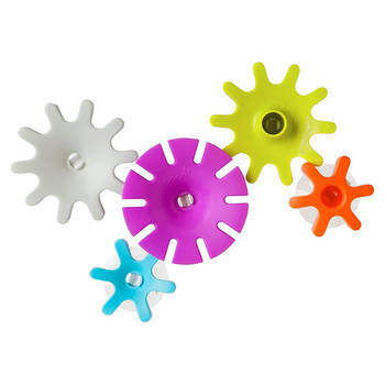 Cogs Building Water Gears Bath Toy - 5pc - 12m+