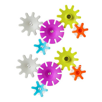 Cogs Building Water Gears Bath Toy - 10pc - 12m+