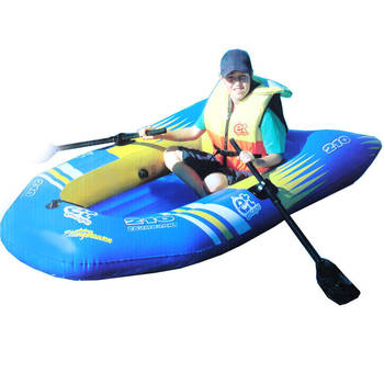 2 Person Inflatable Raft/Oar Fishing Boat Sea Ocea
