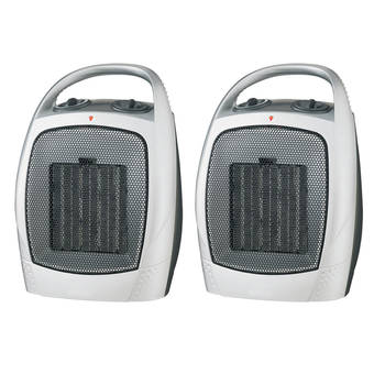 2PK Heller 1500W Upright Ceramic Fan Heater