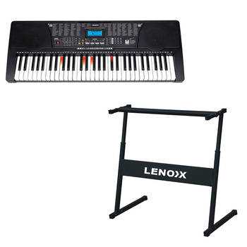 Combo Stand + 61 Piano Key Electronic Keyboard