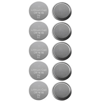 10PC CR1616 3V Lithium Battery For Watch/Calculator