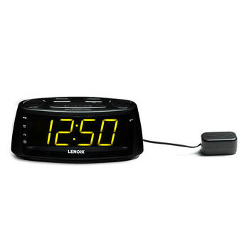 buddee dual alarm digital clock radio black online kg electronic. Black Bedroom Furniture Sets. Home Design Ideas
