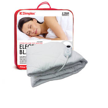 Dimplex Single Pillow Top Fitted Electric Blanket
