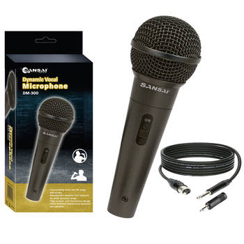 Sansai Dynamic Professional Vocal Microphone