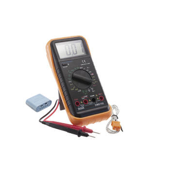 Doss Dm8100 Digital Multimeter With Temperature 3.5 Digital Extra Large Display