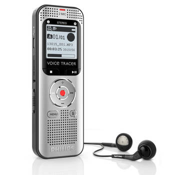 Philips DVT2000 Voice Tracer Digital Stereo Recorder