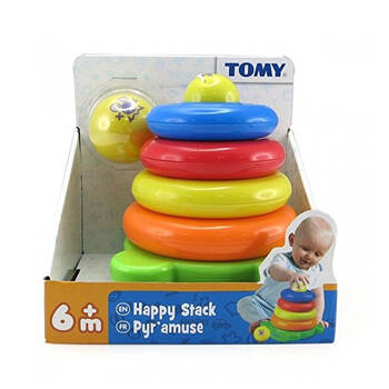 Tomy Happy Stack - Ring Stack - 6m+