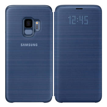 Samsung LED View Control Case For Galaxy S9 - Blue