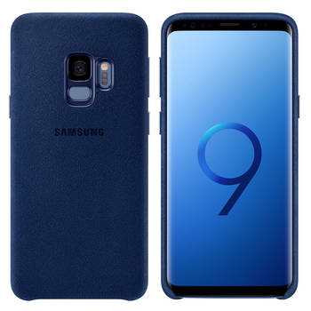 Samsung Alcantara Case For Galaxy S9 - Blue